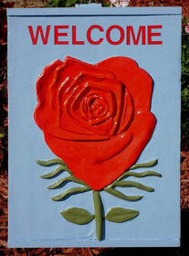 rose wall art,  - darrell ross