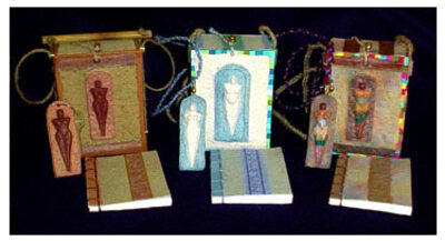 Goddesses-purses-darrell ross